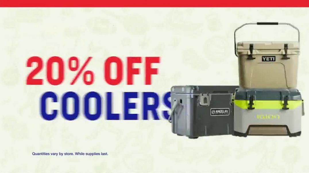 Academy Sports + Outdoors 4 Day Sale TV Commercial Ad 2020, Fathers Day- Magellan and Fishing Gear