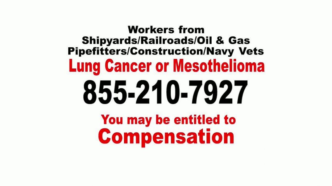 Asbestos Lung Cancer or Mesothelioma Attorneys TV Commercial Ad 2020, Professions