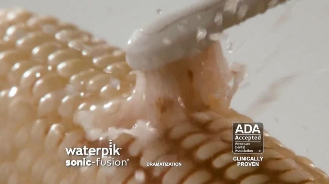 Waterpik Sonic-Fusion TV Commercial Ad 2020, Keeping Your Smile Healthy
