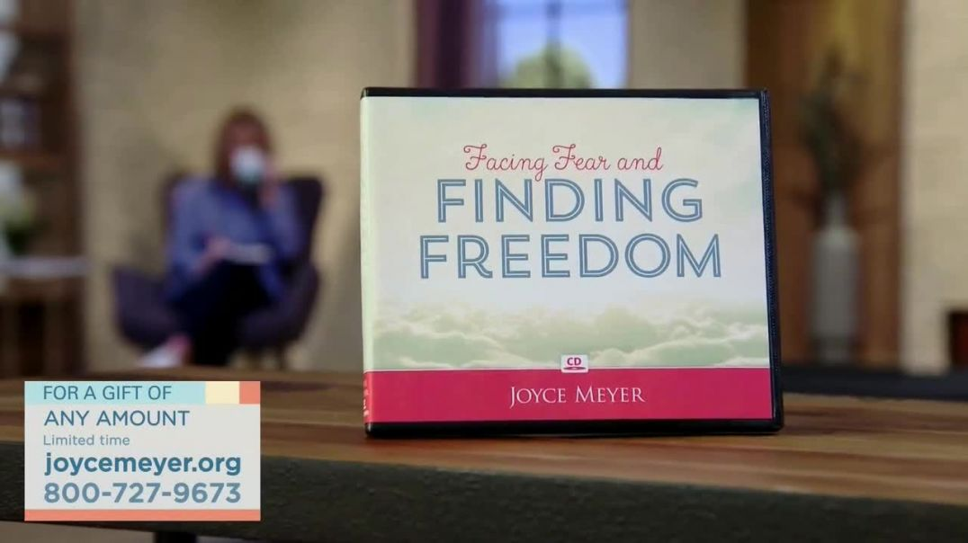 Joyce Meyer Ministries TV Commercial Ad 2020, Finding Freedom- Any Amount