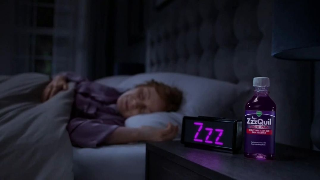 Vicks ZzzQuil Night Pain TV Commercial Ad 2020, Interrupted by Pain