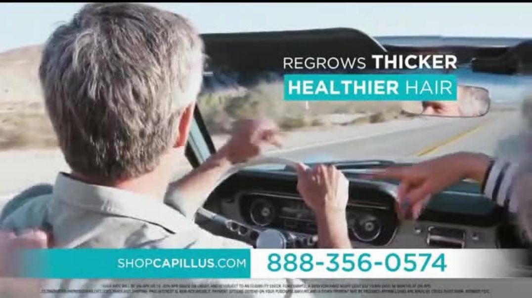 Capillus Semi Annual Sale TV Commercial Ad 2020, Treat Hair Loss at home