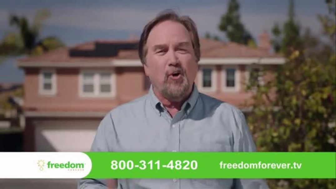 Freedom Forever Solar Stimulus TV Commercial Ad 2020, Add Value to Your Home Featuring Richard Karn