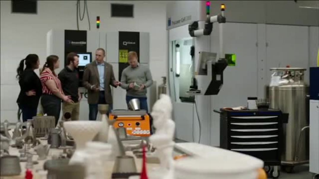 BTN LiveBIG TV Commercial Ad 2020, How Ohio State is Revolutionizing Manufacturing