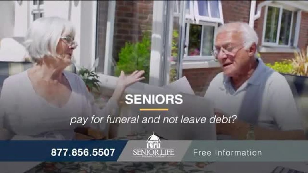 Senior Life Insurance Company TV Commercial Ad 2020, High Funeral Costs