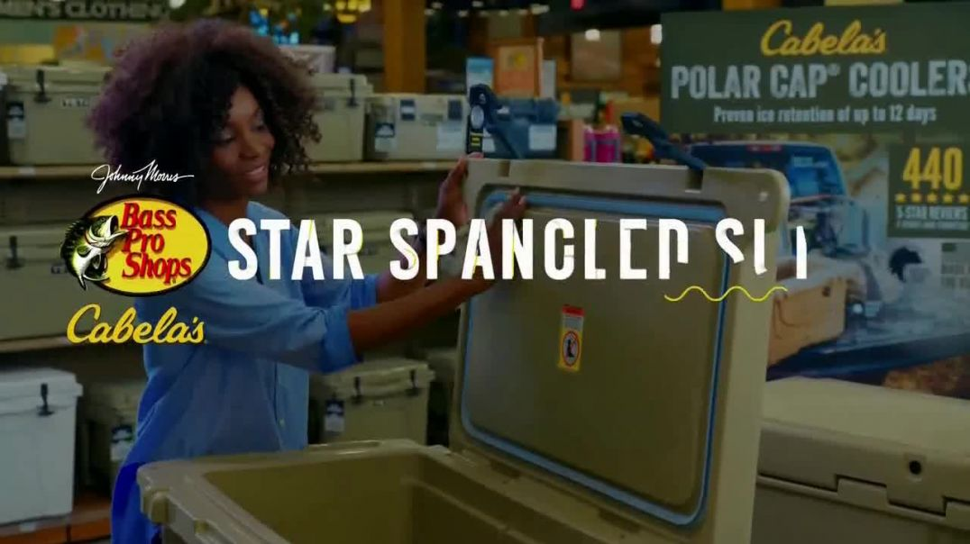 Bass Pro Shops Star Spangled Summer Sale TV Commercial Ad 2020, Life Vest and Shorts