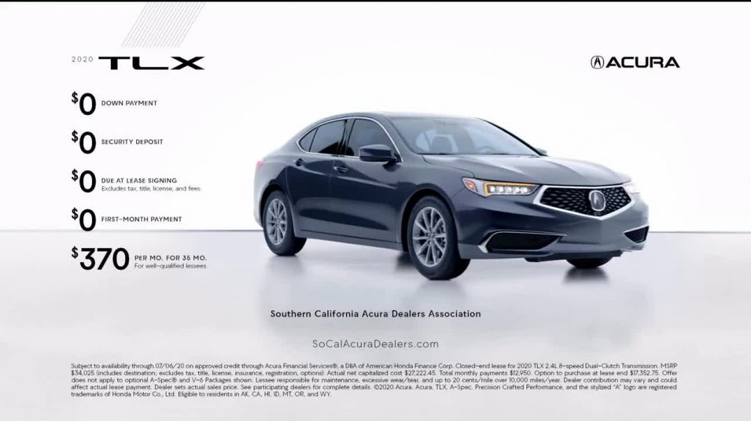 Acura Summer of Performance Event TV Commercial Ad 2020, Ready- Sedans