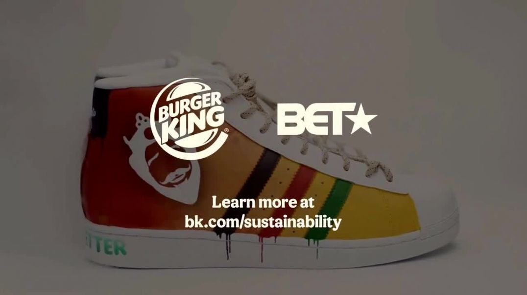 Burger King TV Commercial Ad 2020, Artificial Colors- Custom Sneakers Featuring Sierato