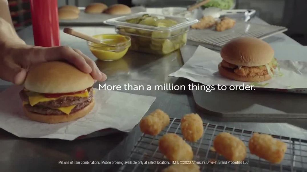 Sonic Drive-In TV Commercial Ad 2020, A Million Things