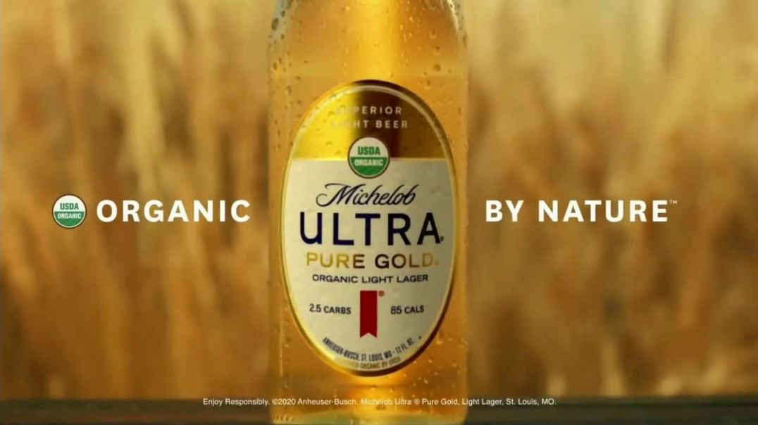 Michelob ULTRA Pure Gold TV Commercial Ad 2020, Grow Your Own