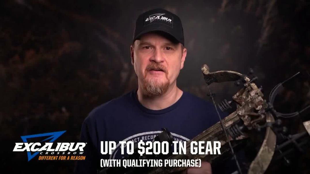 Excalibur Crossbow Summer Savings Event TV Commercial Ad 2020, Hunting Season