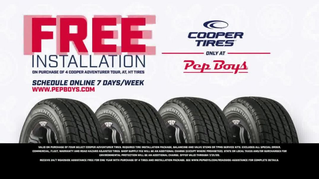 PepBoys TV Commercial Ad 2020, Doors Continue to Open- Cooper Tires