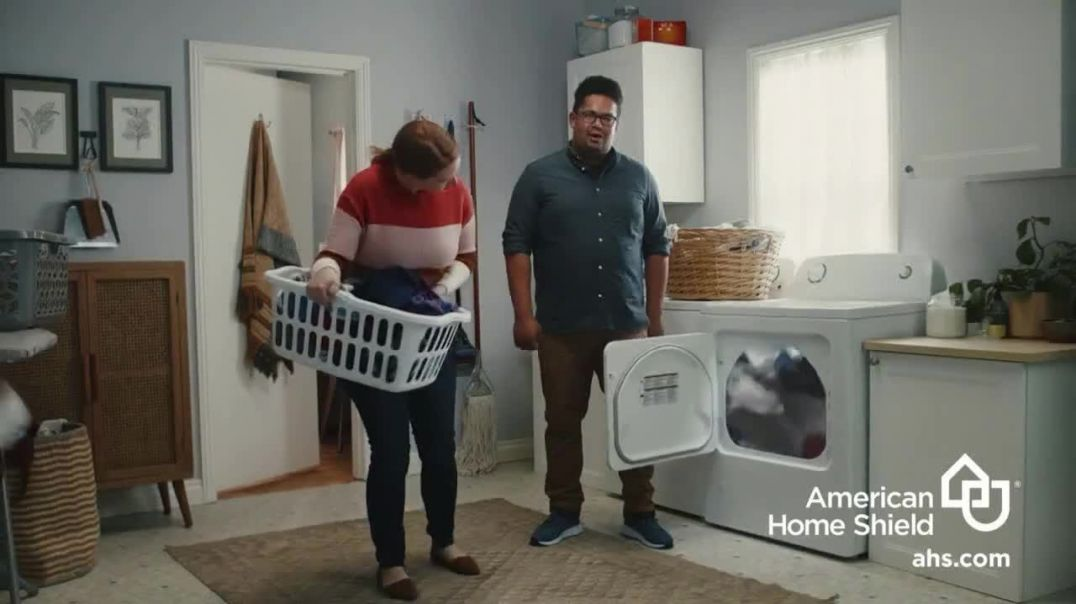 American Home Shield TV Commercial Ad 2020, All Good Here- Dryer