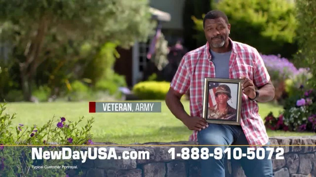 NewDay USA TV Commercial Ad 2020, Arms Around Veterans