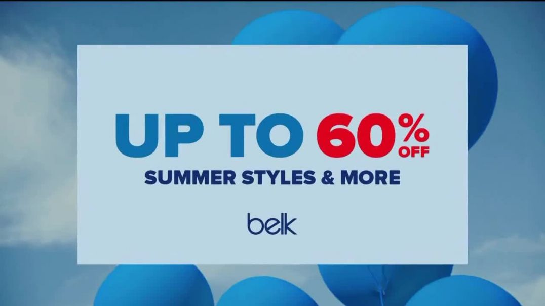 Belk Red White & Blue Bash TV Commercial Ad 2020, Celebration to Remember- 60 Percent Of