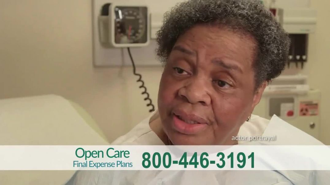Open Care Insurance Services Final Expense Plan TV Commercial Ad 2020, At Peace- Prescription Discou
