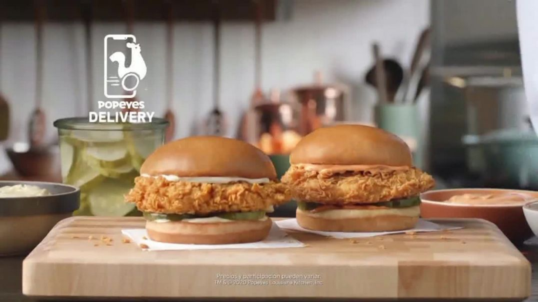 Popeyes Chicken Sandwich TV Commercial Ad 2020, ¿Hace falta-