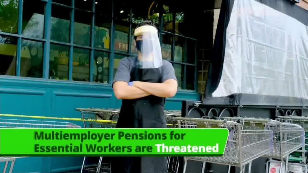 Retirement Security Coalition TV Commercial Ad 2020, Essential Workers