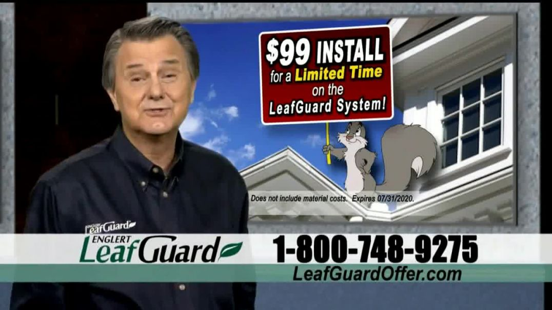 LeafGuard $99 Install Sale TV Commercial Ad 2020, Ladder Accidents
