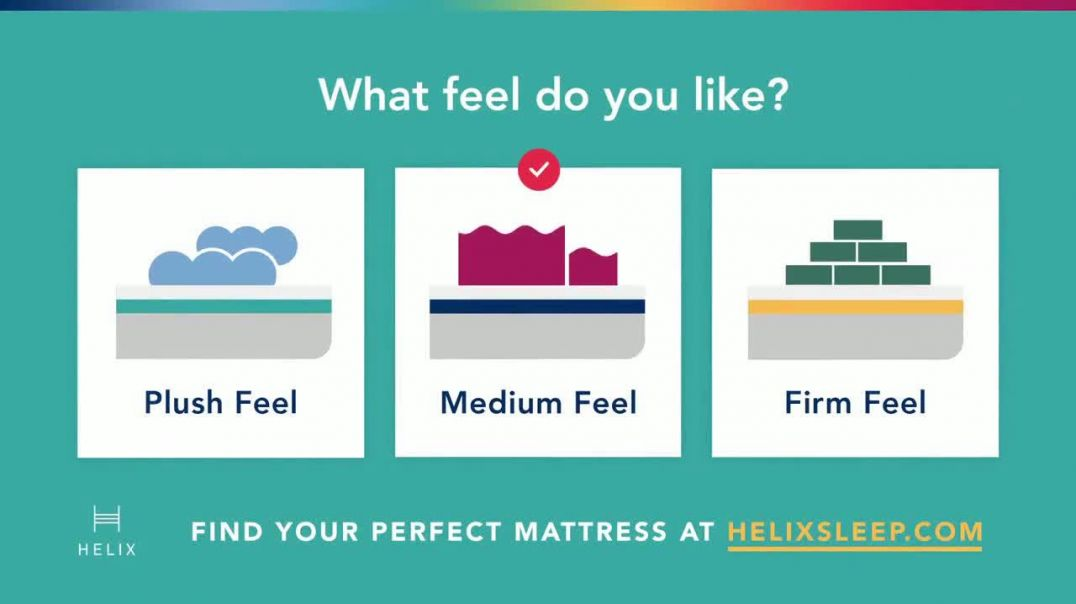 Helix TV Commercial Ad 2020, Find Your Perfect Mattress