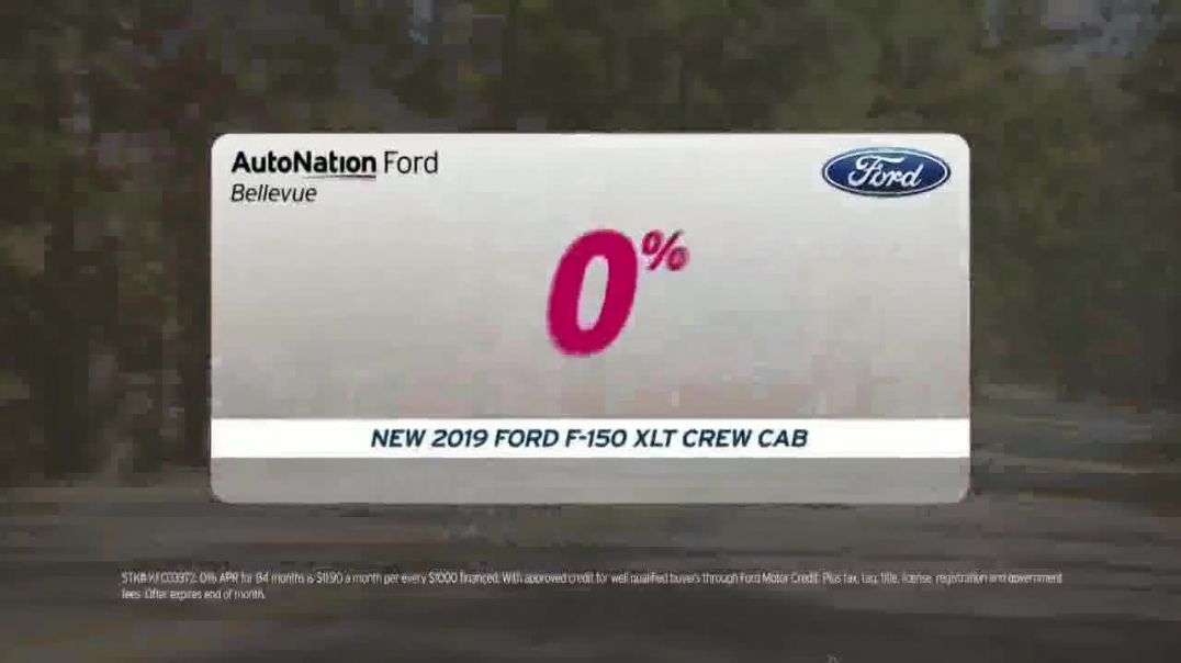 AutoNation Ford July 4th Event TV Commercial Ad 2020, Freedom From Interest