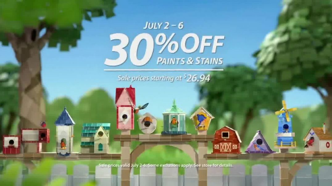 Sherwin-Williams TV Commercial Ad 2020, Dress Your Nest