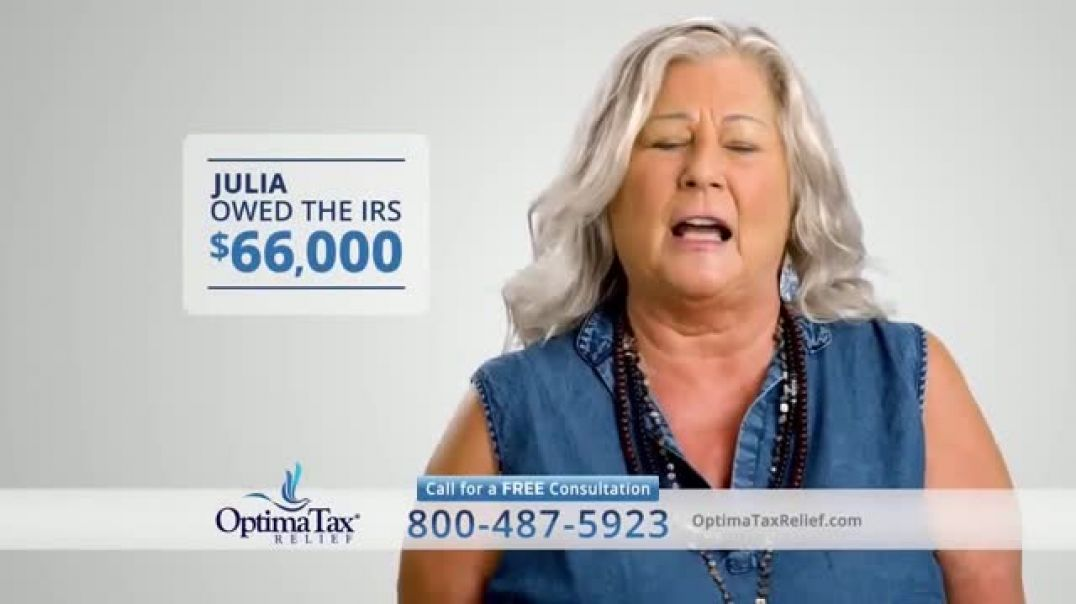 Optima Tax Relief TV Commercial Ad 2020, Uncertain Times