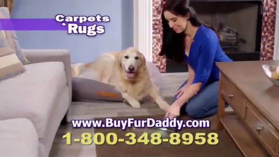 Fur Daddy TV Commercial Ad 2020, Stubborn Pet Hair