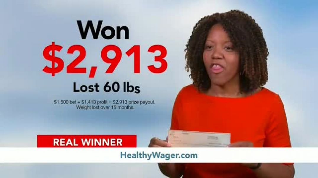HealthyWage TV Commercial Ad 2020, The Bigger the Goal, the Bigger the Prize