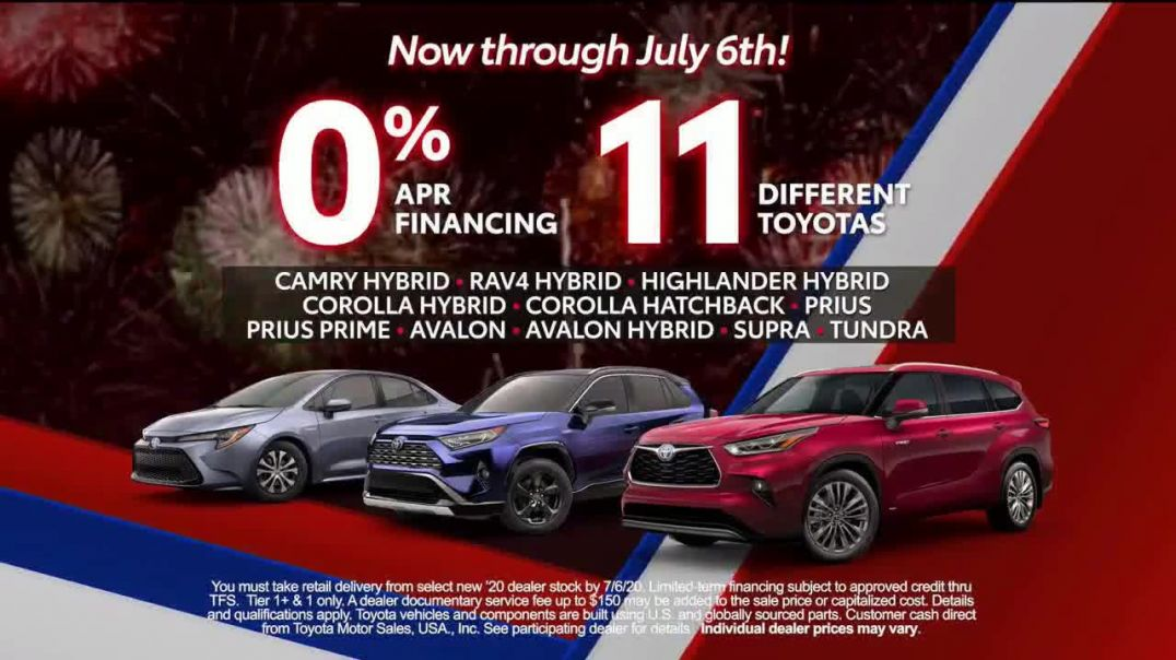 Toyota TV Commercial Ad 2020, 4th of July- Trust Toyota Song by Vance Joy]