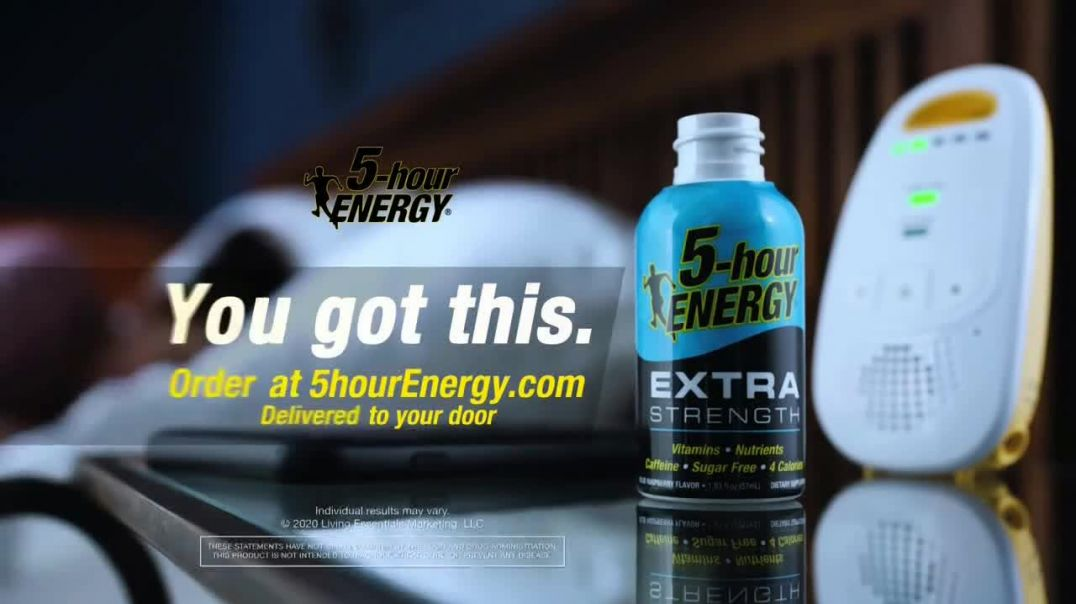 5-Hour Energy Extra Strength TV Commercial Ad 2020, Dads Turn- Delivered to Your Door