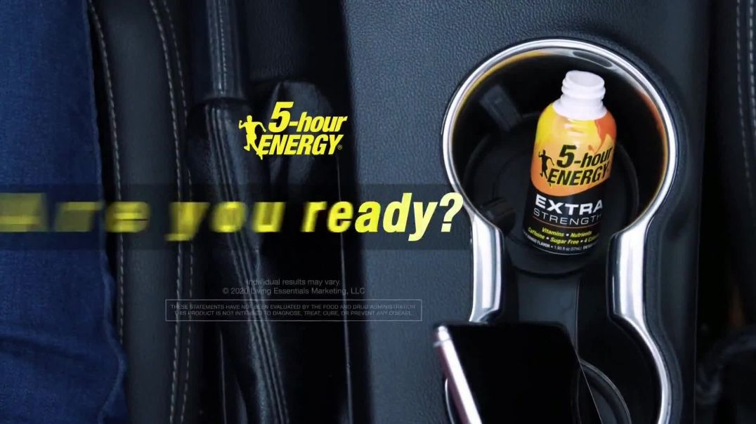 5-Hour Energy TV Commercial Ad 2020, Road Trip