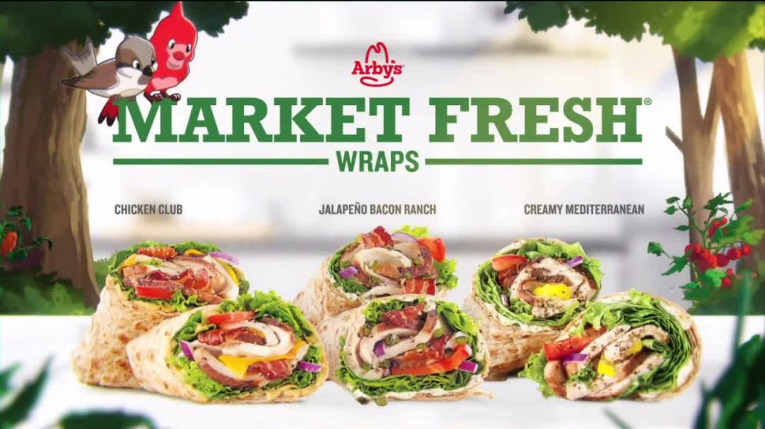 Arbys Market Fresh Wraps TV Commercial Ad 2020, Magic Window Song by YOGI