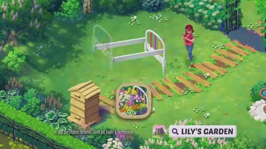 Lilys Garden TV Commerial Ad 2020, Restore and Customize