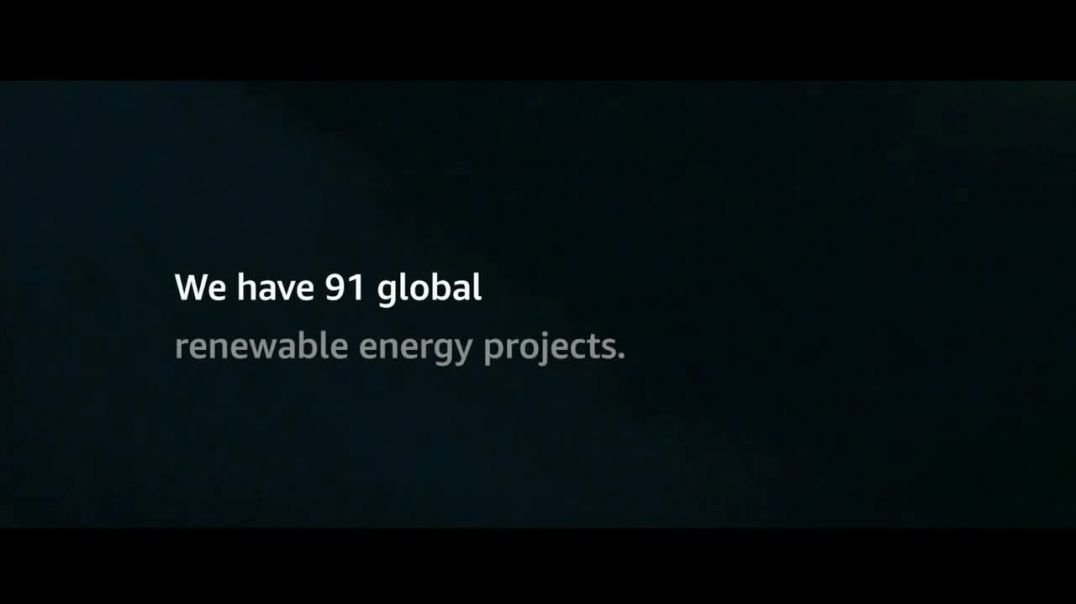 Amazon TV Commerial Ad 2020, The Climate Pledge