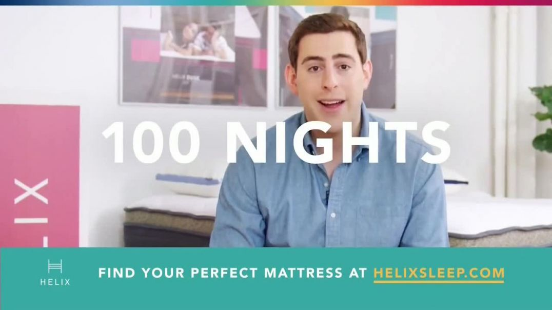 Helix TV Commerial Ad 2020, Find Your Perfect Mattress
