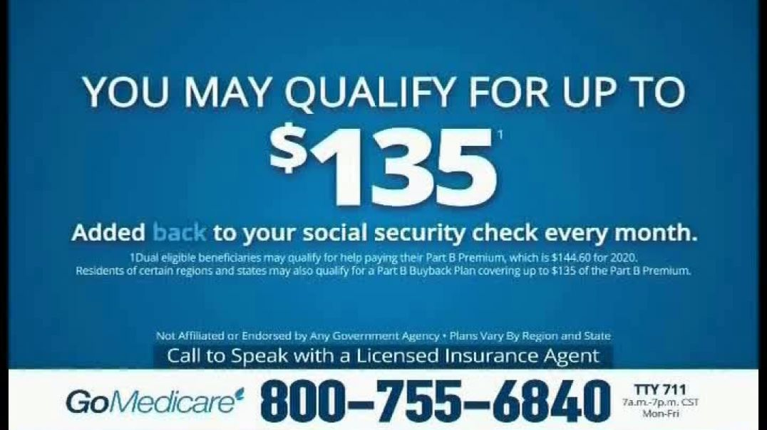 GoMedicare TV Commerial Ad 2020, If You Have Medicare, You Need to Call Right Now
