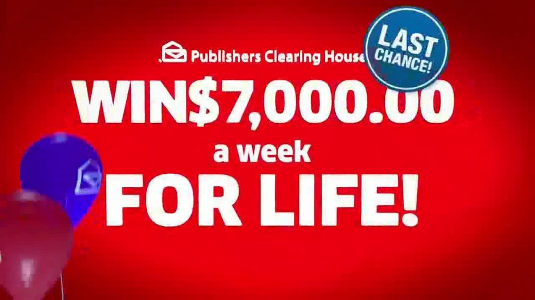 Publishers Clearing House TV Commercial Ad 2020, Last Chance to Win Featuring Terry Bradshaw