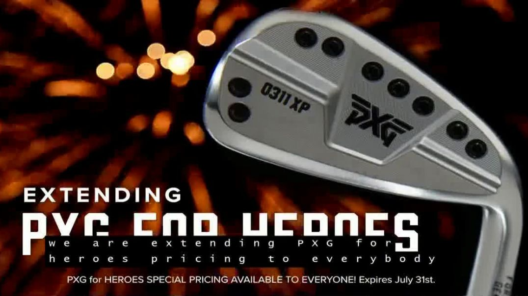 Parsons Xtreme Golf TV Commercial Ad 2020, Happy Birthday USA- PXG for Heroes Special Pricing ft
