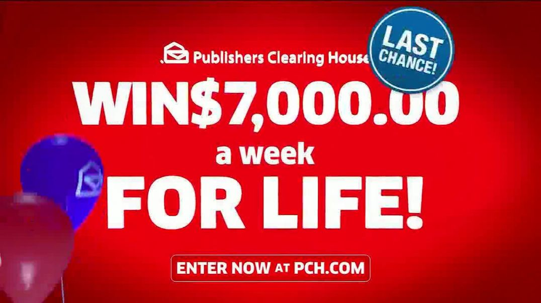 Publishers Clearing House TV Commercial Ad 2020, Last Chance- Step On It Feat Terry Bradshaw