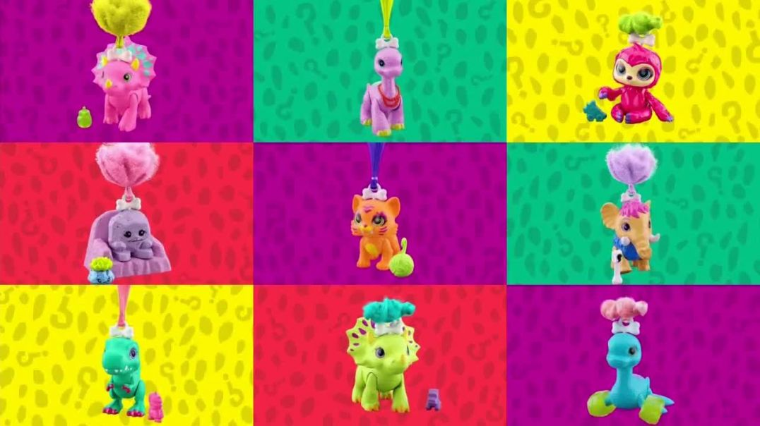 Cave Club Dino Baby Crystals TV Commercial Ad 2020, Four Surprises Inside