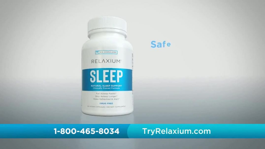 Relaxium TV Commercial Ad 2020, Deep Sleep- 30-Day Trial