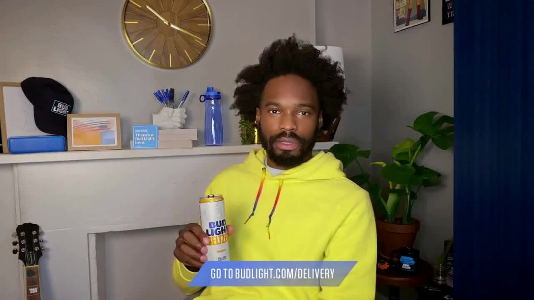 Bud Light Seltzer TV Commercial Ad 2020, Toast to the Everyday- Delivery Pizza Featuring Yedoye Trav