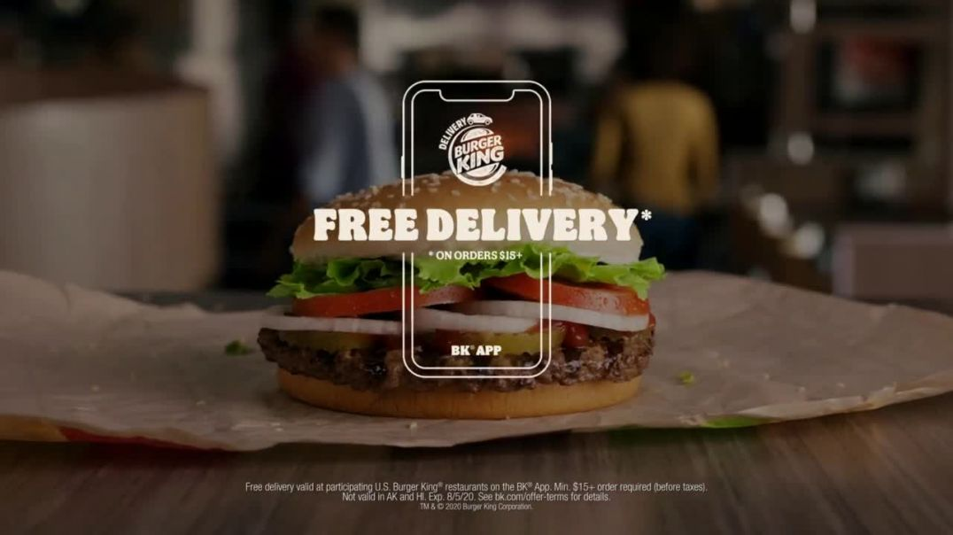 Burger King TV Commercial Ad 2020, Feeling Hungry- $15