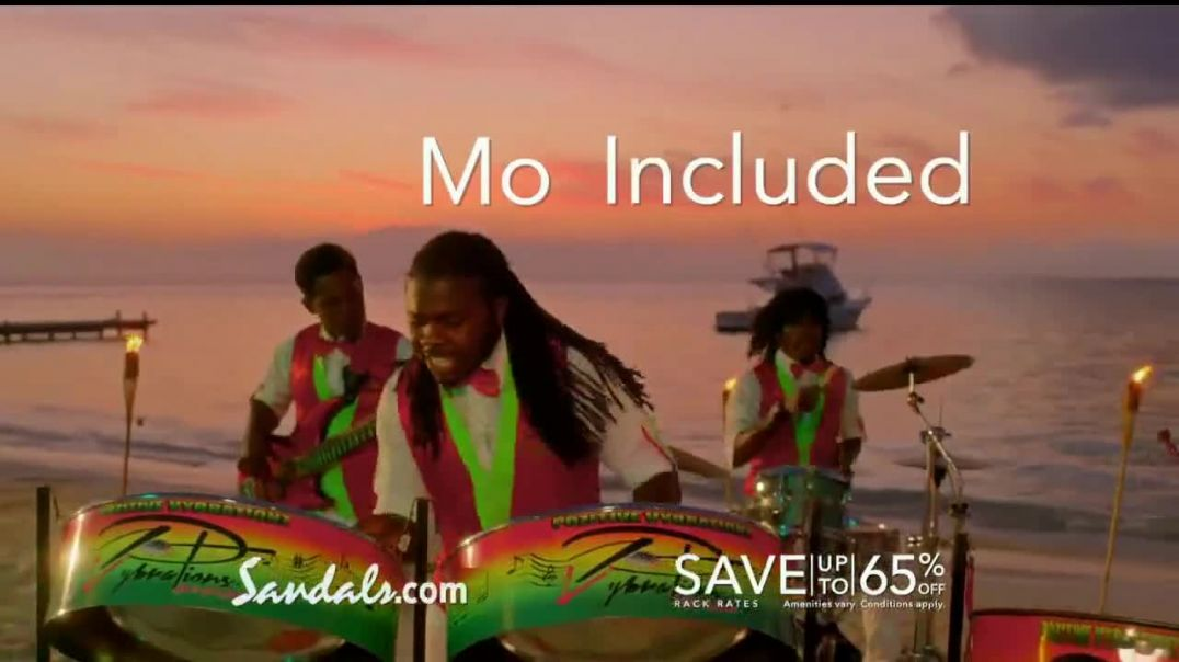 Sandals Resorts Montego Bay TV Commercial Ad 2020, Mo Fun- Now Open