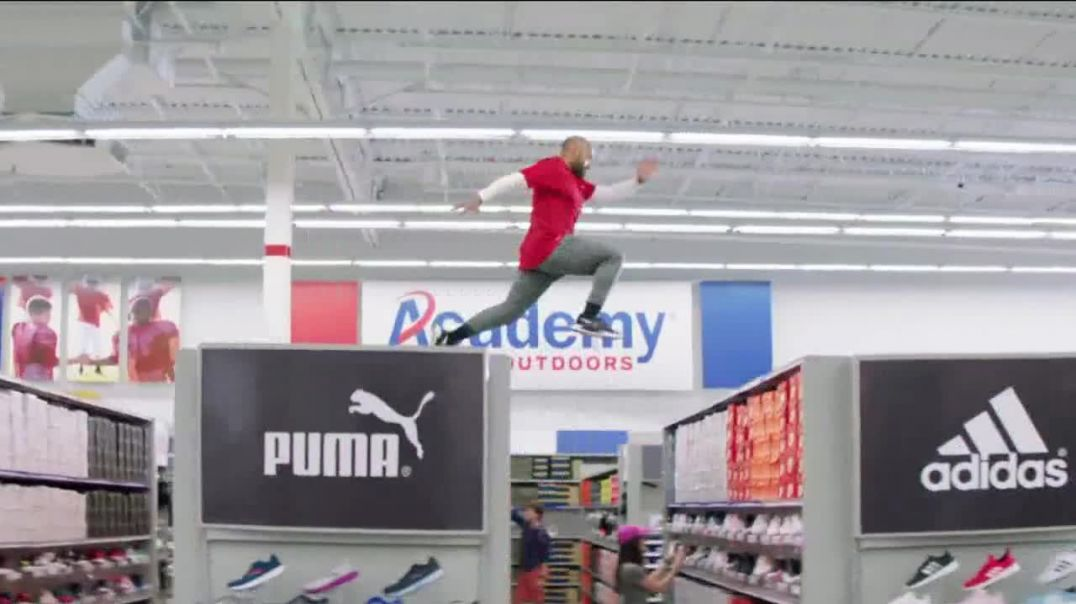 Academy Sports + Outdoors TV Commercial Ad 2020, Gear Up- Shoes, Nike and Crocs Featuring Marty Smit