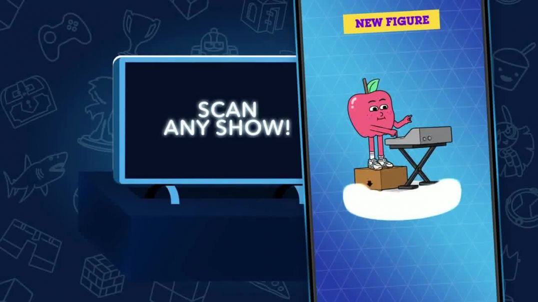 Cartoon Network Arcade App TV Commercial Ad 2020, Apple & Onion Figures