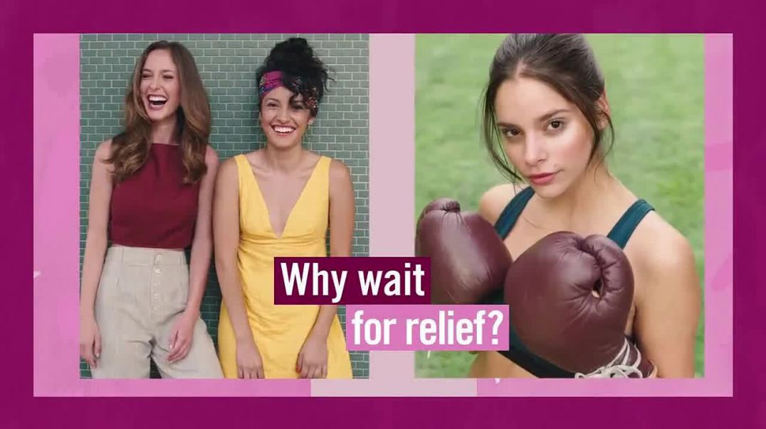 Vagisil TV Commercial Ad 2020, It Can Take Days