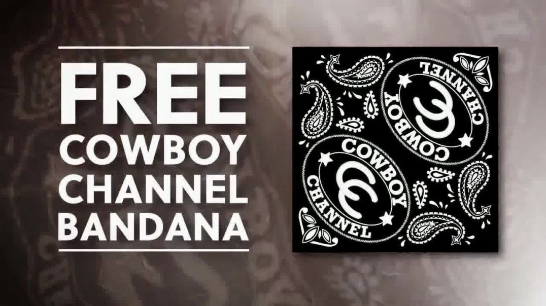 Cowboy Channel Plus TV Commercial Ad 2020, Year Subscription- Bandana