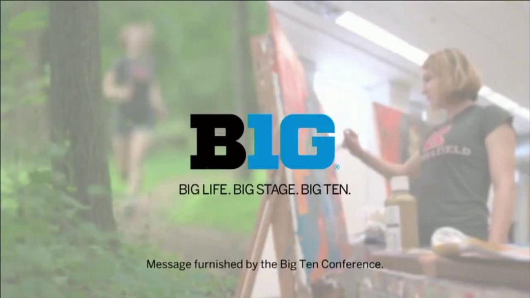 Big Ten Conference TV Commercial Ad 2020, Faces of the Big Ten- Olympia Martin